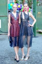 Kasia Struss and Ginta Lapina