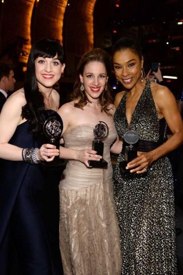 Lena Hall, Jessie Mueller and Sophie Okonedo