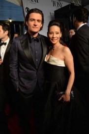Orlando Bloom and Lucy Liu