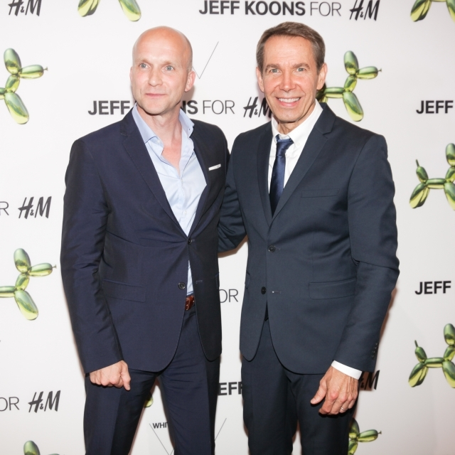 """H&M and Jeff Koons 5th Avenue Flagship Store Celebration"""