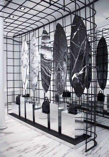 Alexander Wang Cage Installation Aug 2014