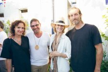 Marianna Gose, Vincent Martinelli, Manon Von Gerkan, Christopher Lewis, Cynthia Rowley Cocktail Party