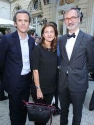 Guillaume Houzé & Sophie Delafontaine & Jean Cassegrain