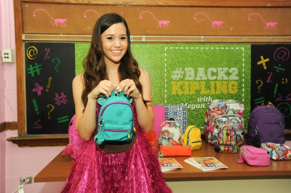 """Megan Nicole at the #Back2Kipling Campaign Launch"""