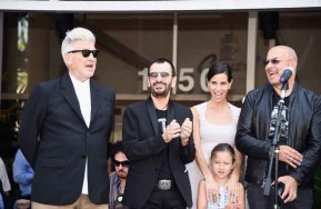 John Varvatos And Ringo Starr Press Conference
