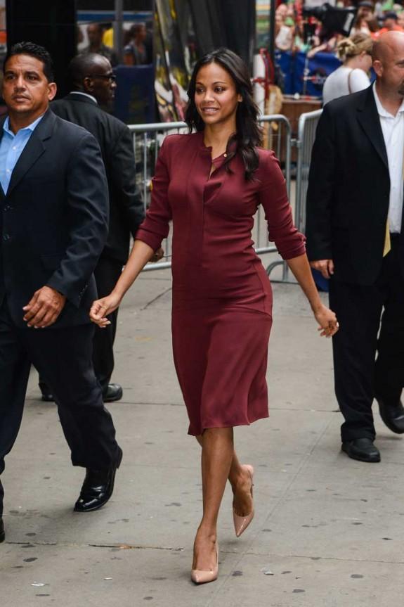 Celebrity Sightings In New York City - July 28, 2014