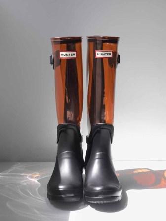 Hunter Original Clear-Leg Boot, $250