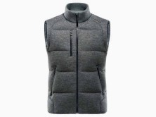 Porsche Mens Knit Down Vest
