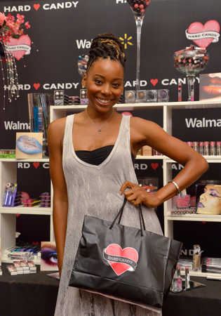 """Erica Ash at the GBK & Pilot Pen Luxury Style Lounge"""