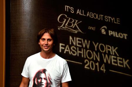 """Jonathan Cheban at the GBK & Pilot Pen Luxury Style Lounge"""