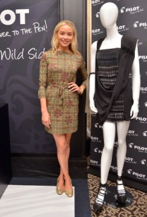 """Noelle Reno at the GBK & Pilot Pen Luxury Style Lounge"""