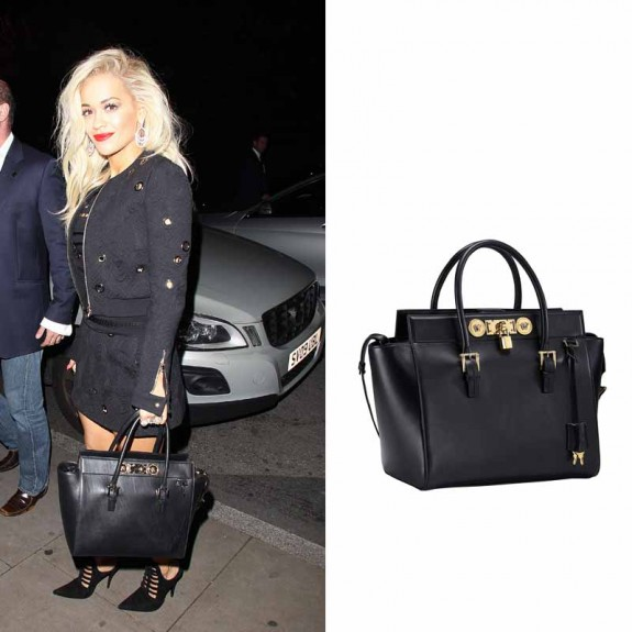 rita in versace bag