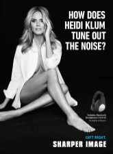 Heidi Klum for Sharper Image 2014 (3)