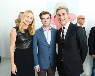 Michael Govan, Kris Knight, Frida Giannini