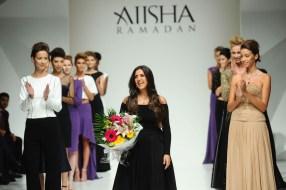Aiisha Ramadan Presented By Dhamani - Runway - Dubai FFWD April 2015