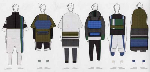 Illustrated Lineup by Livia Bianda, B.F.A. Menswear Design