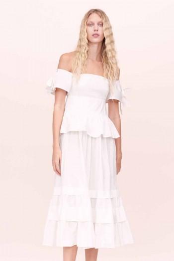 Rebcca Taylor Tapestry Garden Short Sleeve Dress