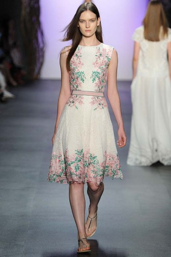 Tadashi Shoji New York  Fashion Week RTW Spring Summer 2016 September 2015