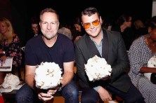 NEW YORK, NY - SEPTEMBER 07: Scott Morrison and Zachary Weiss attend Supima Design Competition SS18 runway show during New York Fashion Week at Pier 59 on September 7, 2017 in New York City. (Photo by Brian Ach/Getty Images for Supima Design Competition)