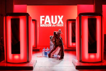 MAISON THE FAUX CATWALK FASHION SHOW SS18