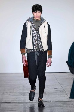 NEW YORK, NY - FEBRUARY 08: A model walks the runway for Global Fashion Collective Presents WILDFRAULEIN 71 At New York Fashion Week Fall 2018 at Industria Studios on February 8, 2018 in New York City. (Photo by Arun Nevader/Getty Images for Global Fashion Collective)