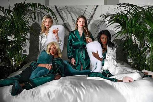Zizi Donohoe London Womenswear Fall Winter 2018-2019 London February 2018