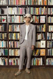 Presentation of Victor Li's Spring Summer 2019 mens collection on July 9 2019.