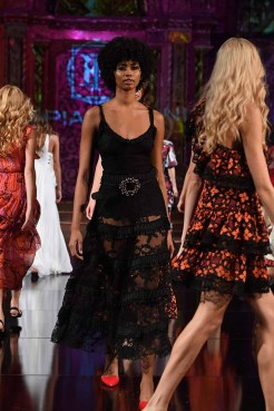 NEW YORK, NY - SEPTEMBER 10: Models walk the runway during the LE PIACENTINI show at New York Fashion Week Powered By Art Hearts Fashion at The Angel Orensanz Foundation on September 10, 2018 in New York City. (Photo by Arun Nevader/Getty Images for Art Hearts Fashion)