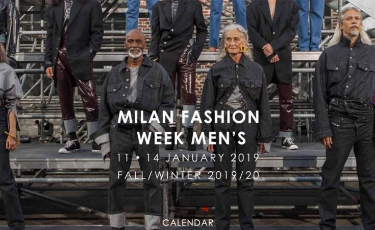 Screenshot of Milan Fashion Week Men's at Camera Moda