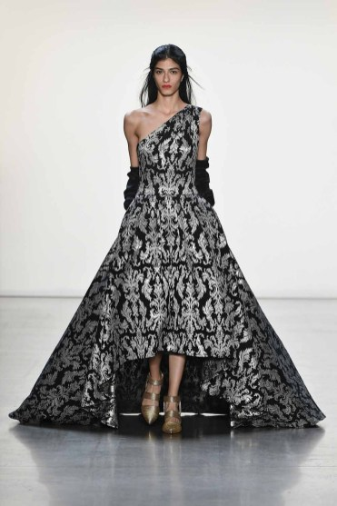 Tadashi Shoji FW'19 Fashion Show - Runway