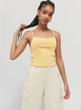BDG Memphis Cami in Yellow, $24 at Urban Outfitters