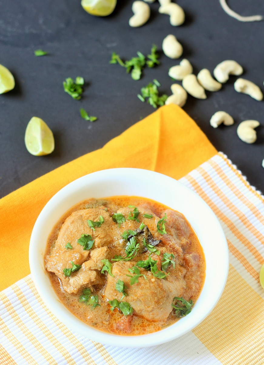 Indian Chicken Korma Recipe, Hyderabadi