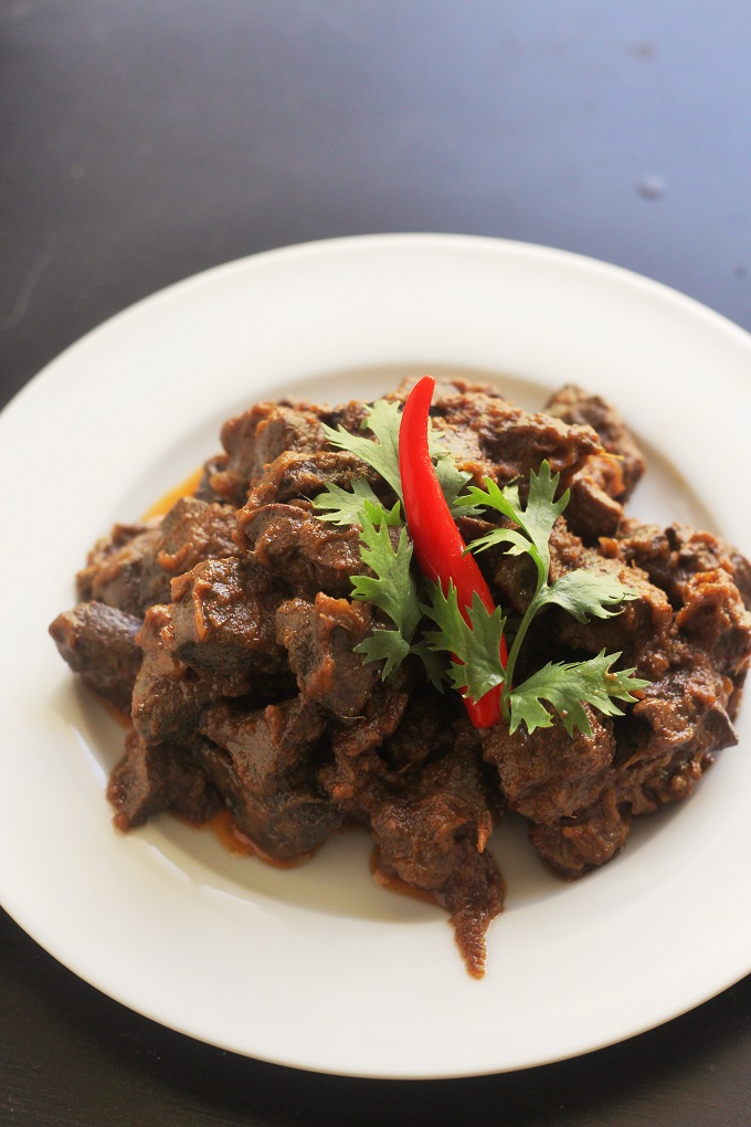 kaleji ka salan-liver masala made with exotic indian spices