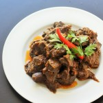 kaleji ka salan-liver masala made with exotic indian spices