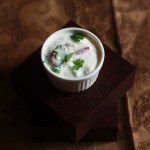 Onion Raita Recipe-A delicious yogurt based sauce made with onion and green chili. #faskitchen #halaalrecipes #raita #indianrecipes