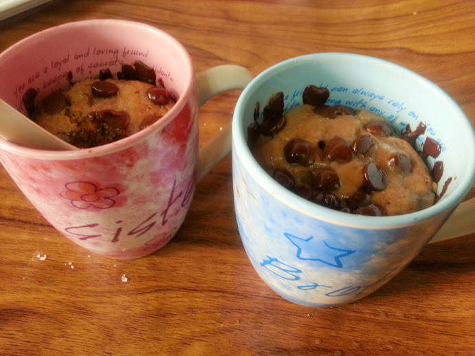 Brownie-in-a-mug