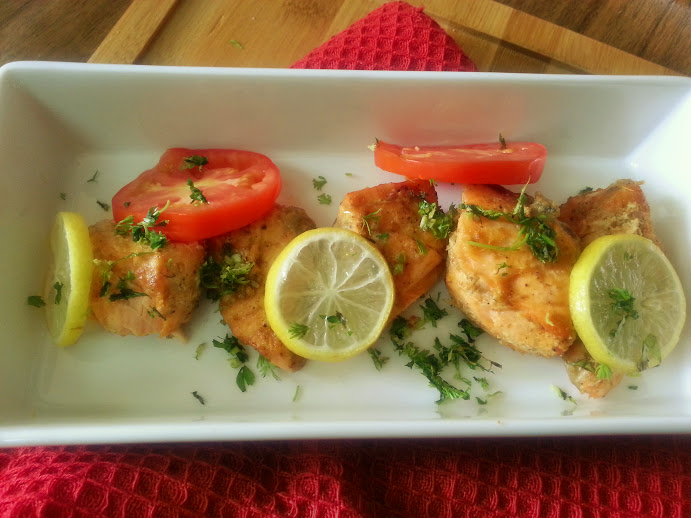 Masaledar Salmon recipe
