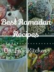 My favorite Ramadan Recipes