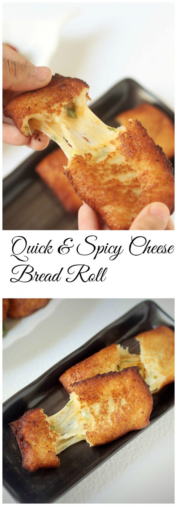 Easy and Spicy Cheese Bread Roll