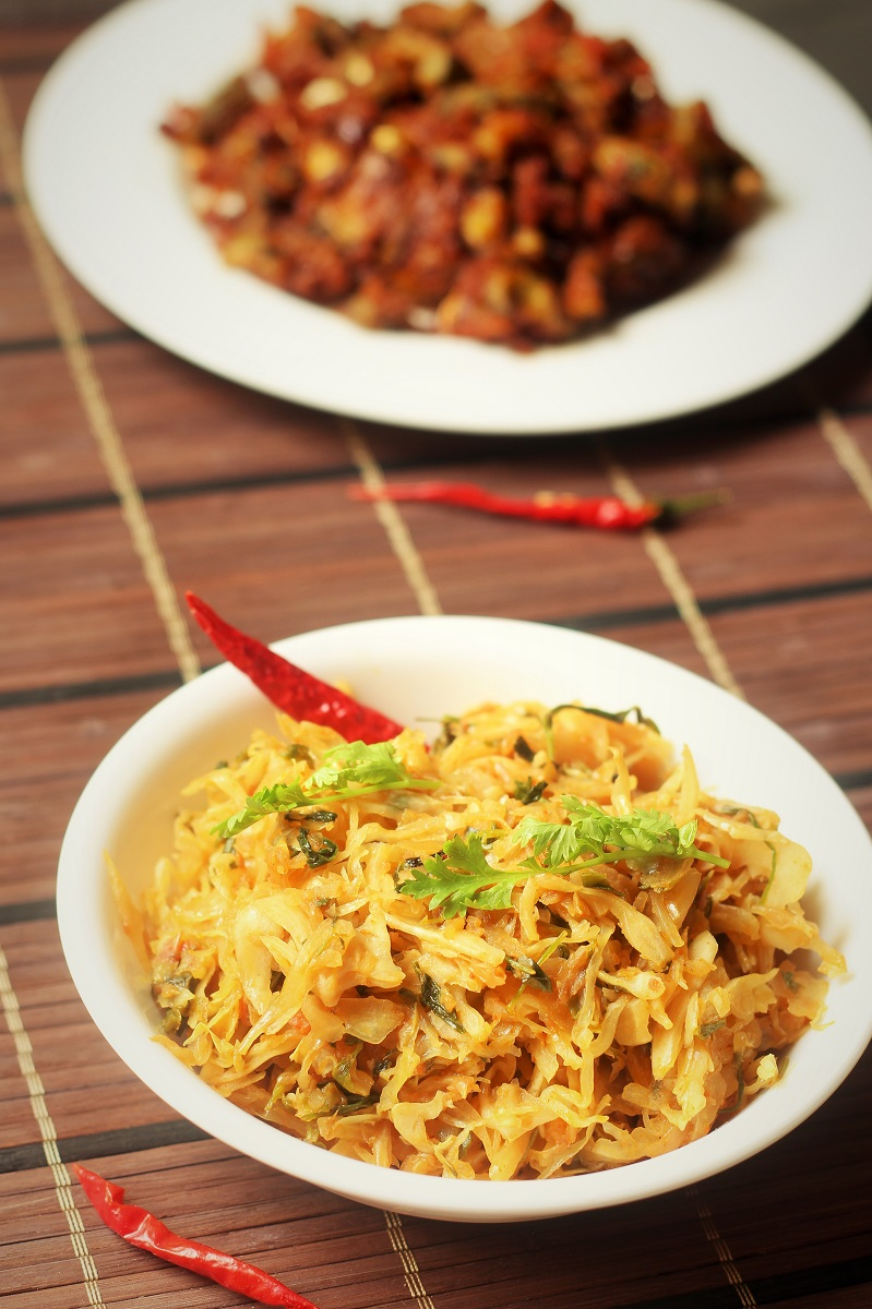 cabbage recipe with methi