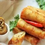 recipe for chicken spring roll