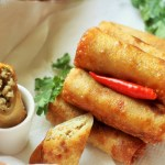 recipe for chicken spring roll