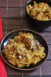 Patta Gobi Gosht Recipe-A tasty cabbage with mutton recipepCabbage Mutton Curry Recipe
