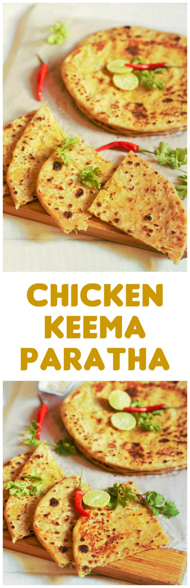 Chicken Keema Paratha Recipe-How to make chicken keema paratha-An awesome paratha stuffed with delicious mince chicken filling. #chickenparatha #chickenrecipe #indianchickenrecipe #indianrecipe #halalrecipe #chickenbread #indianbread