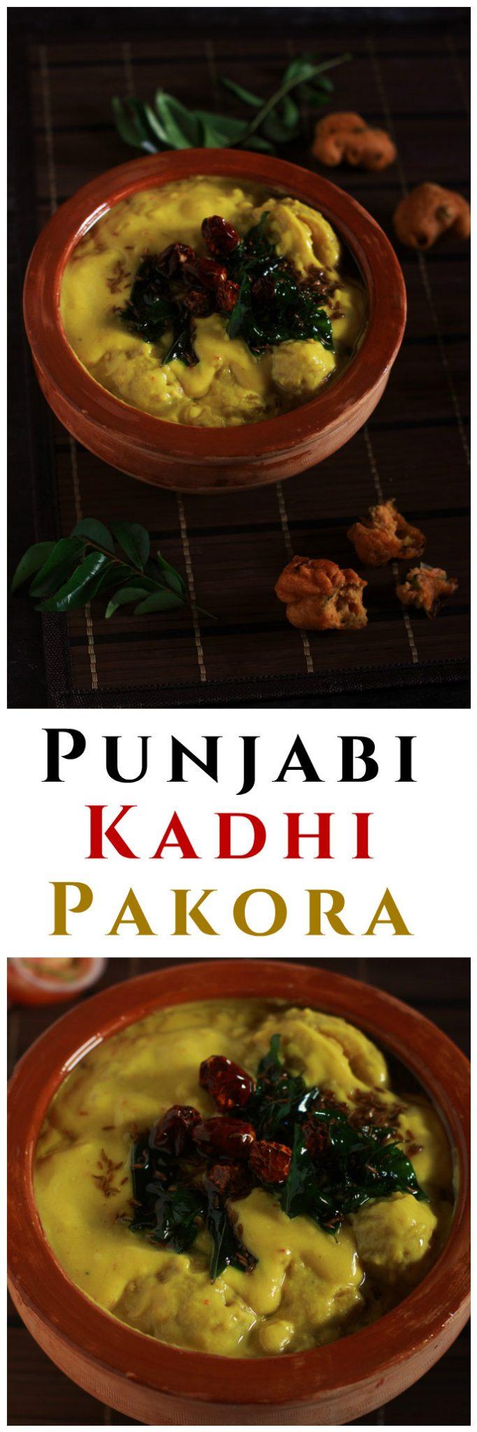A very scrumptious punjabi kadhi pakora made with gram flour and yogurt. Fried gram flour dumplings are cooked in a yogurt based sauce. #kadhipakora #indianrecipe #halalrecipe #vegrecipe #pakora #kadhi