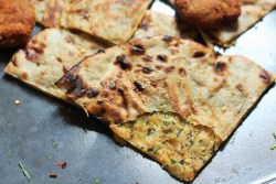 Masala Kulcha recipe is a simple and absolutely tasty kulcha recipe. Pretty easy to make with whatever veggies you have at home, this flat bread can be made with whatever you like.
