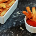 Popeye's Homemade French Fries Recipe. This is my humble attempt to make the world famous fries at home as closest as possible. These are easy copycat french fries made from scratch! These are the best fries you will ever have!!