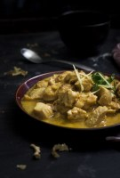 Indian Ginger Chicken recipe or the Adraki Murgh Salan, made with lots of ginger flavor will be your favorite if you love ginger. The ginger is both added in the form of paste and julienne to give lots of flavor an aroma to the chicken.