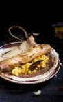 Masala Dosa Recipe served in a plate