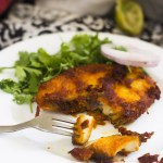 Vanjaram fish fry or Surmai Fish Fry or the king fish fry is a delicious and tasty fish fry recipe. The king fish is known as surmai in Urdu and Vanjaram in Tamil. It is a very very popular fish in Tamil Nadu or for that matter, anywhere that there is fish available in the world.